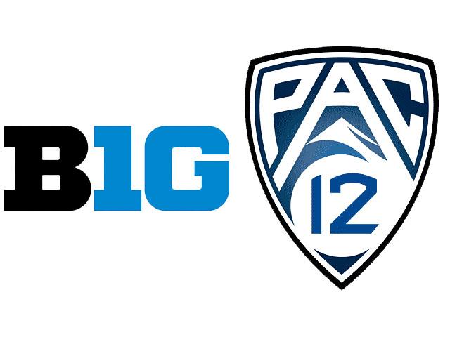 Logos Big-10 y Pac-12