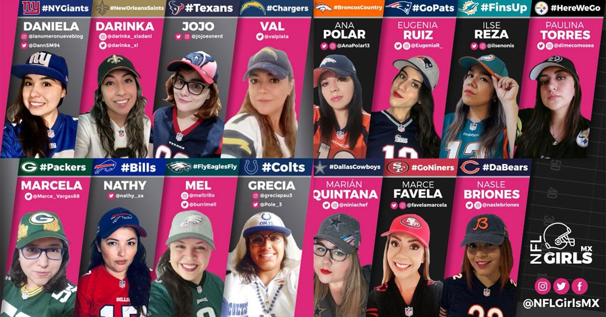 NFL Girls comunidad de aficionadas a la NFL